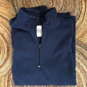 Old Navy zip front fleece pullover